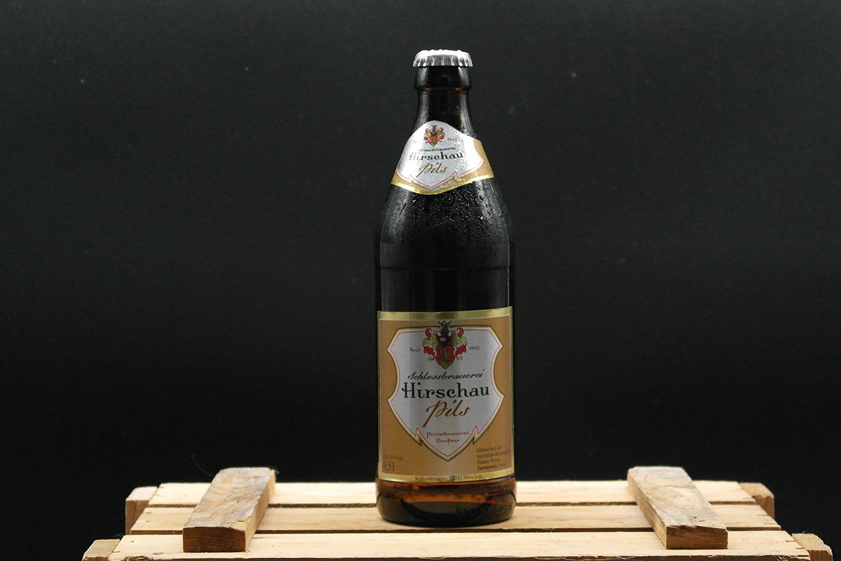 Schlossbrauerei Hirschau - Pils 0,5