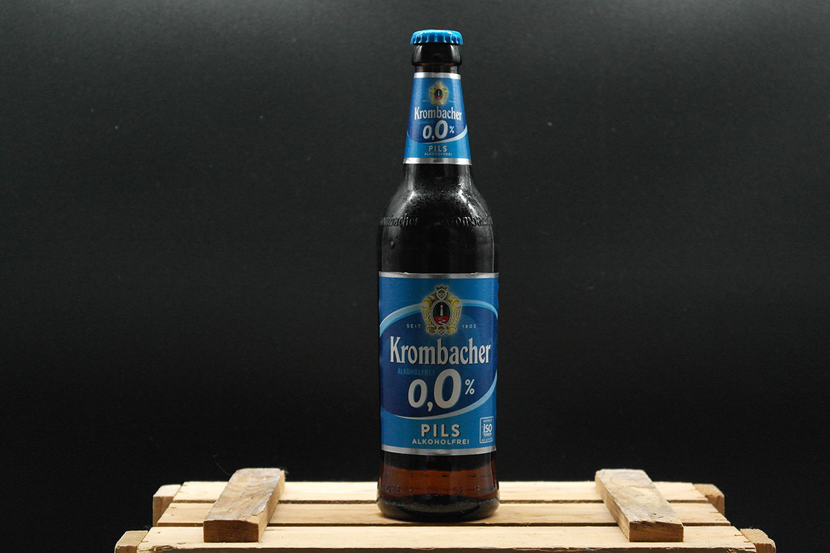 Krombacher Pils alkoholfrei 0,0