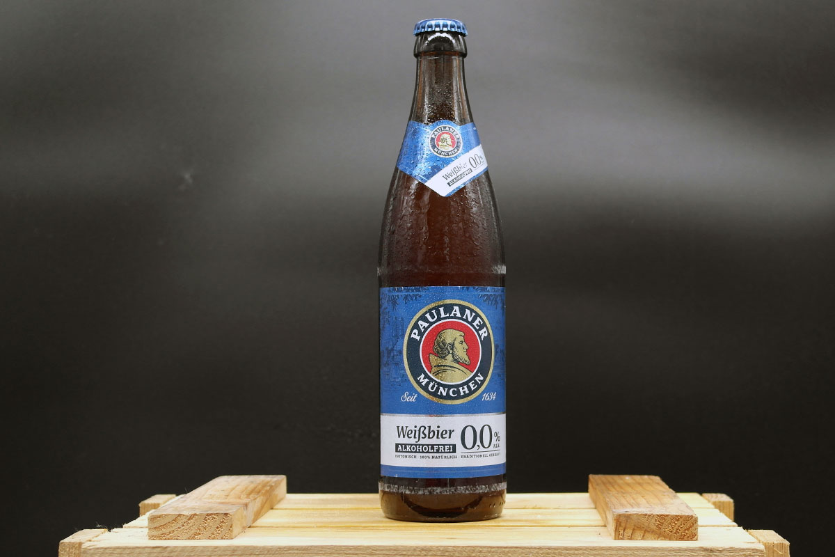 Paulaner Weißbier alkoholfrei 0,0%