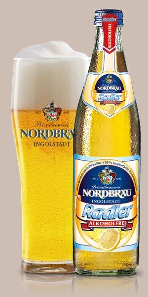 Nordbräu Radler alkoholfrei