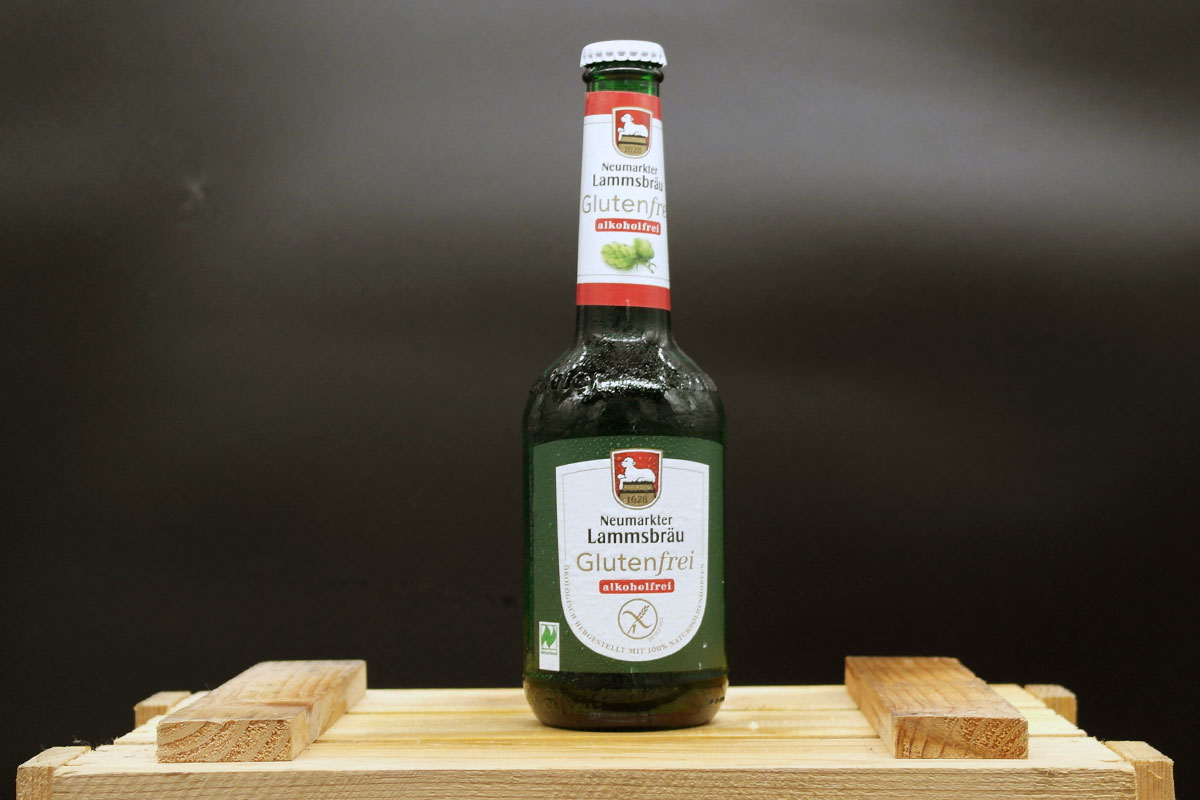 Neumarkter Lammsbräu Glutenfrei Alkoholfrei 0,33l