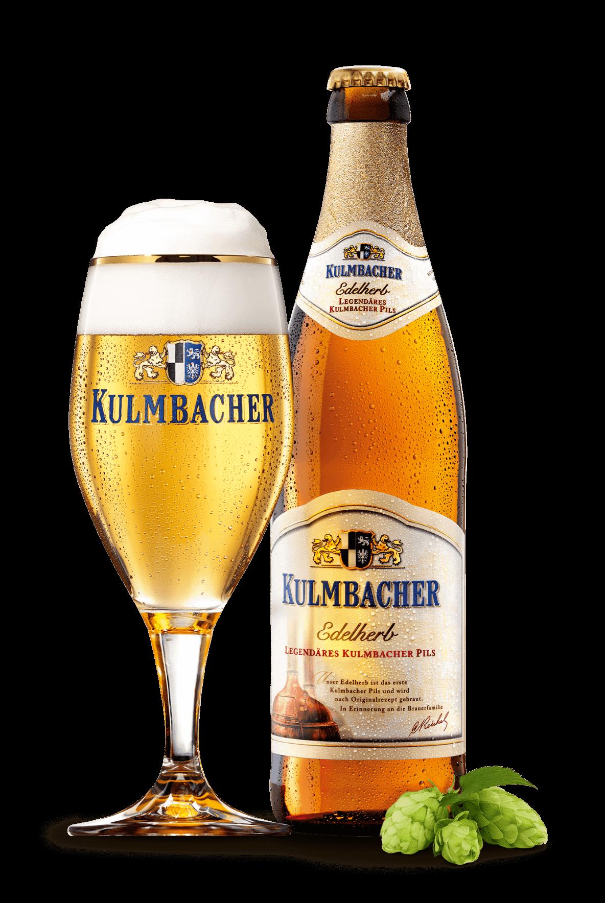 Kulmbacher Edelherb - legendäres Pils